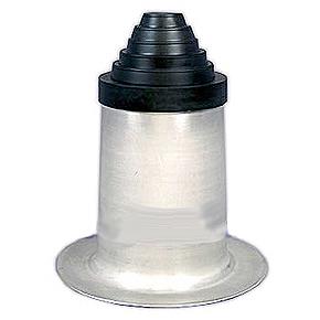 Portals 24015 Alumi Flash Ex Tall Pipe Flashing W C 126 Cap