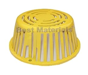 Plastic Roof Drain Dome / Strainers for all Types of Roof Drains