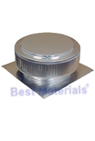 10 In. Aura Ventilator,  2 Inch Collar for Shingle Roof