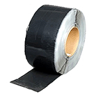 BLACK EPDM Coverstrip Tape, 6 inch Wide (Per Foot)
