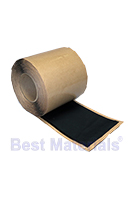 Black EPDM Coverstrip Seam Cover Tape, 12 in. X 50