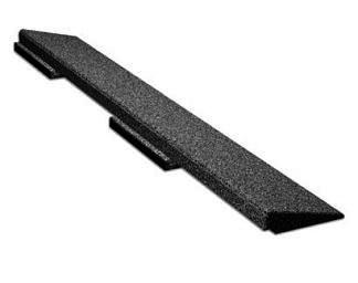 Interlocking Rubber Deck Paver Ramp Edge Specify Color