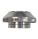 10 in. Dia. Aura Pop Vent, Roof Breather / Intake Vent