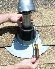 Electric Service Flashings