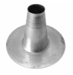 6 Inch Hot Pipe Aluminum Flashing Cone 12 4 Tall X 18 35