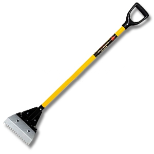 Super Shing-Go Tear-Off Shovel w/ Fiberglass Handle - AJC-117-SGS(S), SUPER SHING-GO TEAR-OFF SHOVEL WITH FIBERGLASS HANDLE.