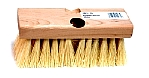 7 in. Tampico Roofers Brush With Threaded And Tapered Holes
