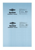 Dow Thermax Sheathing, 2 inch, 4 x 8 foot