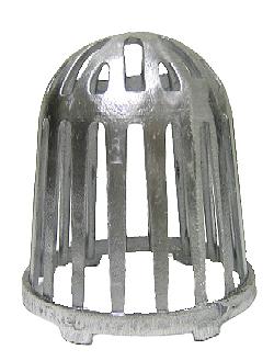 5 In Cast Al Replacement Drain Dome Strainer