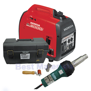 Portable Roof Air Air Welding Kit W 2kw Honda Generator