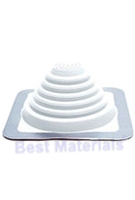 #1W MASTER FLASH WHITE EPDM SQUARE-BASE FLASHING (15)