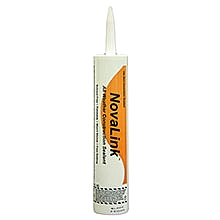 Novalink Sealant, GRAY Color, 10.1 Oz Tube - NOVALINK HIGH-PERFORMANCE POLYETHER SEALANT & ADHESIVE, GRAY COLOR (light gray), 10.1 OZ TUBES. PRICE/TUBE.