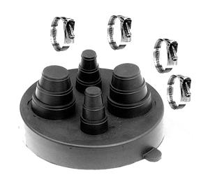 Portals 29225 C 212 4 Pipe Flashing Cap With Clamps
