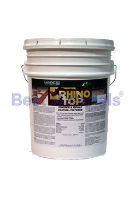 Rhino Top Epoxy-Acrylic Concrete/Asphalt Coating, SMOOTH, TINTED, 5G