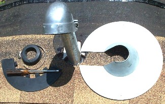 Retrofit Pipe Flashing Kit 1 1 2 Inch