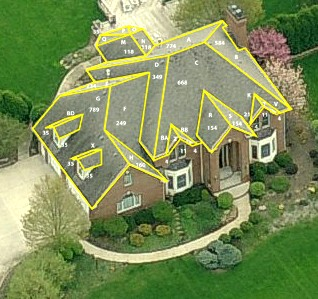 Roof Measurement Report For Residential Roofs