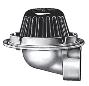 Smith 1340 Side Outlet Small Area Roof Drain Specify Outlet