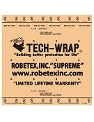 Tech Wrap Ultimate Synthetic Underlayment, 10 sq. Roll (4x250 ft.)