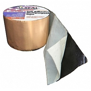 U Seal 9 In X 33 Ft Copper Faced Flashing Tape 1