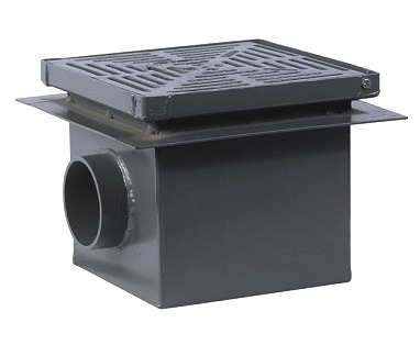 Watts Fd 430 Large Side Outlet Area Drain W Hinged Top