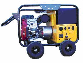 Winco 12000 Watt Generator, Gasoline Powered - WINCO MODEL WC12000HE 12000 WATT GENERATOR, 20HP HONDA MOTOR, 15G GAS TANK, 4-WHEEL KIT, 60A STRAIGHT-BLADE PLUG. (Battery additional). TRUCK SHIPMENT ONLY. (photo ID AND signature required for delivery)