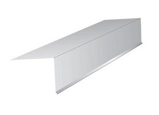 2 In X 2 In X 10 Ft Drip Edge 26 Ga Galv White