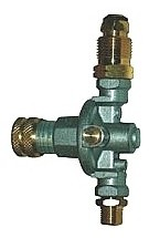 14-57 PSI Adjustable Propane Gas Regulator, POL Fitting, Hose Failure Valve