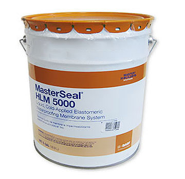 MasterSeal HLM 5000 ROLLER Grade Waterproofing (5G) - MasterSeal HLM 5000 (formerly Sonoshield HLM5000) ROLLER GRADE (roll on) Waterproofing.  5-Gallon Pail. Price/Pail. (36 pails/pallet; Ground Shipment Only; BASF #51677002)