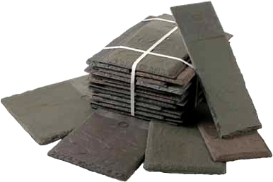 Slate Multi Width Synthetic Roof Tiles Select Color 30